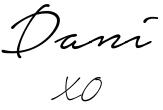 dani signature